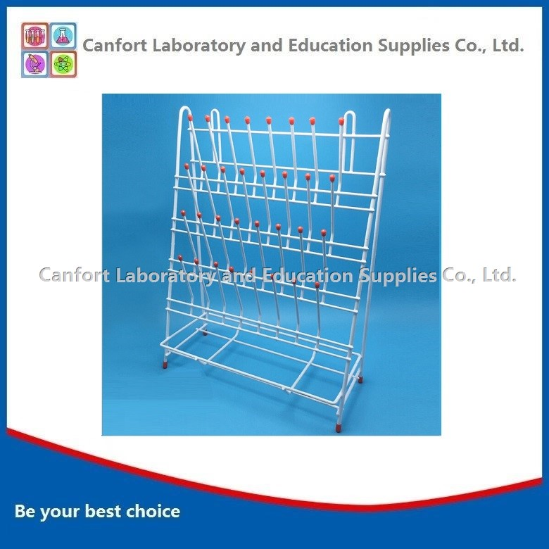 Laboratory drying rack, draining racks