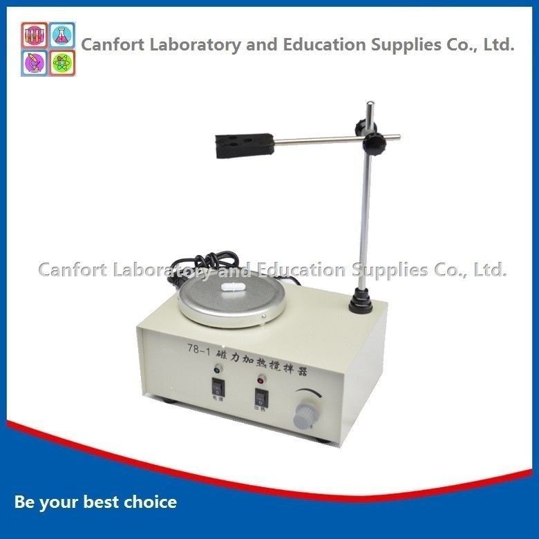 78-1 Magnetic stirrer with hotplate