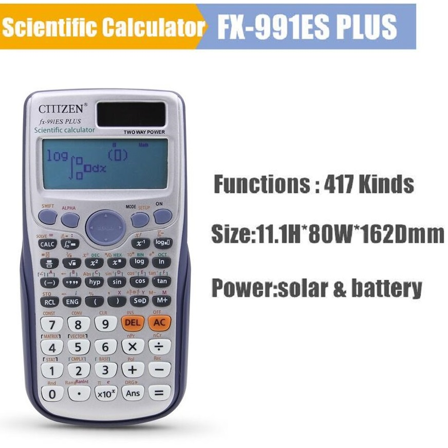 Scientific Calculator Fx991es Plus