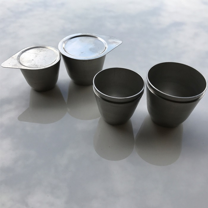 Nickel Crucible with Lid