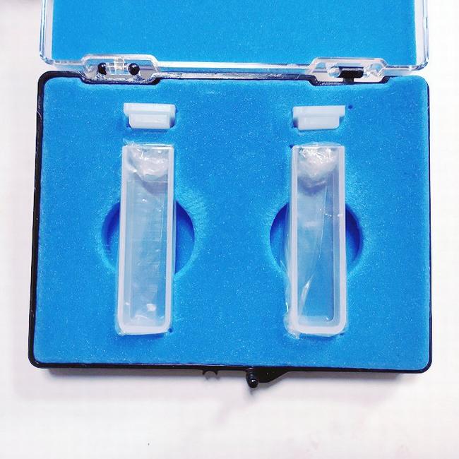 UV VIS Quartz Cuvette, 10mm Light Path