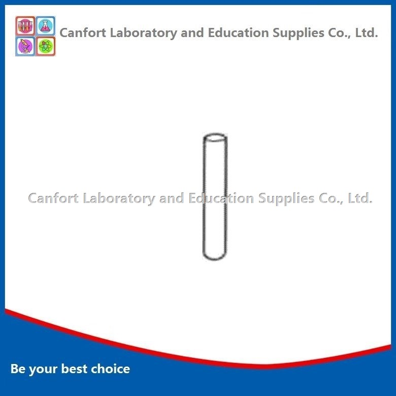 Test tube, without rim, bacteriological use