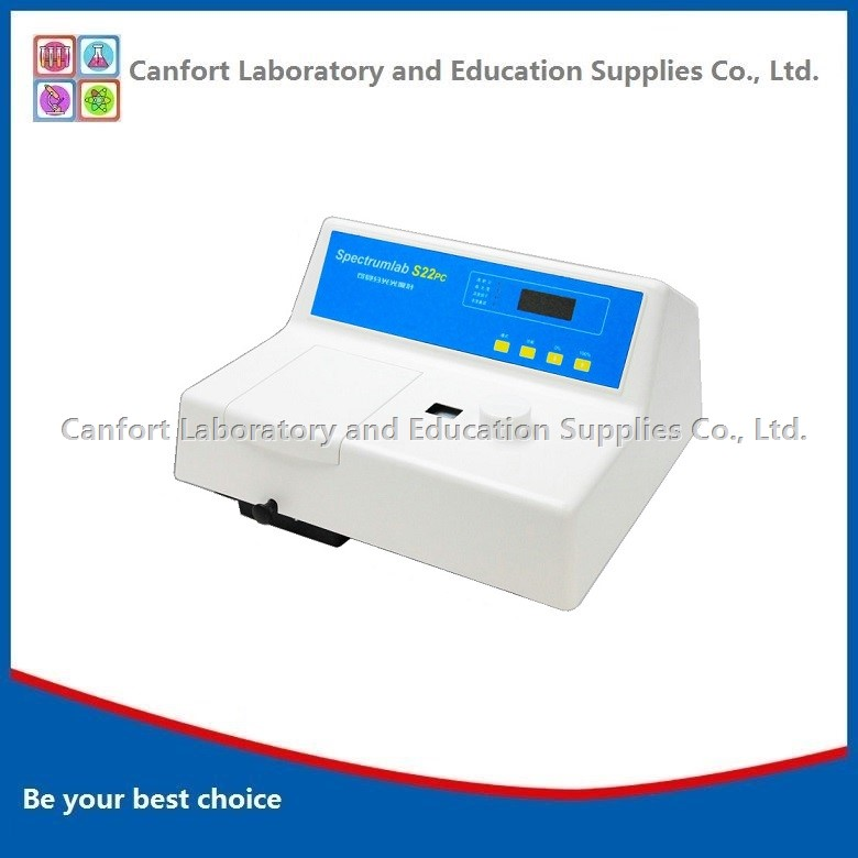 Visible spectrophotometer model S22PC