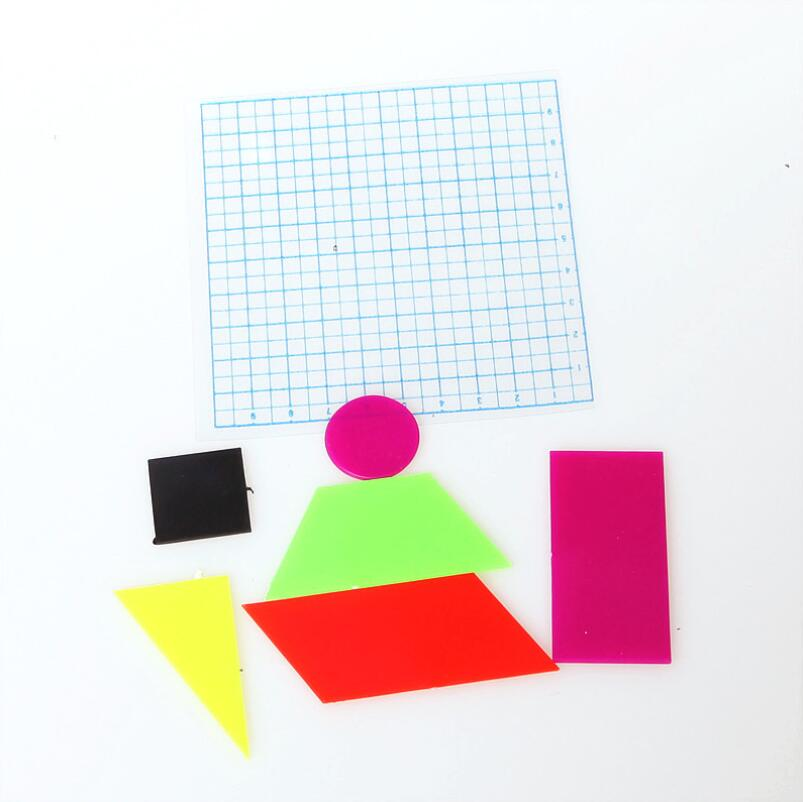 Demonstration of Geometric Figures Area