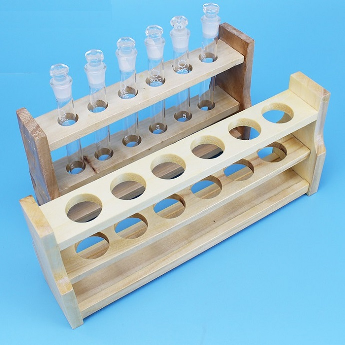 Wooden Colorimetric Tube Stand